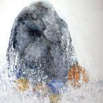 Mari Blomroos-Heininen,Sea Pearls, Oil on canvas, 89x116cm, 2020